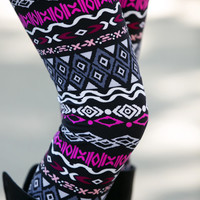 Diamond Eye Aztec Leggings