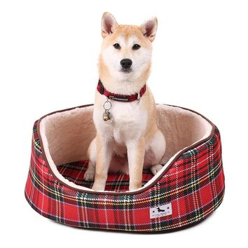 Hot Sale Fashion pets Bed  for puppies  Very Soft dog beds suitable for all size pet  house bed mat cat sofa supplies