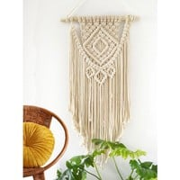 Macrame Wall Hanging Tapestry - BOHO Chic Home Decorative Wall Decor - Bohemian