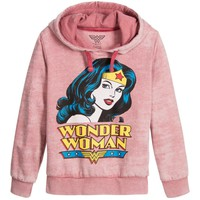 Eleven Paris Girls Pink 'Wonder Woman' Sweatshirt