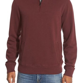 Men's Bonobos Slim Fit Quarter Zip Sweater,