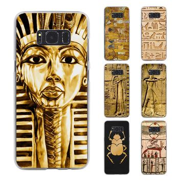 Egyptian Style Art Phone Case for Samsung Galaxy S8 S8 Plus note 5 note4 S7 S6 edge s5