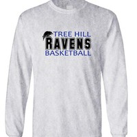TREE HILL RAVENS football tv show one - Long Sleeved Tee