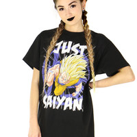 DRAGON BALL Z JUST SAIYAN TEE