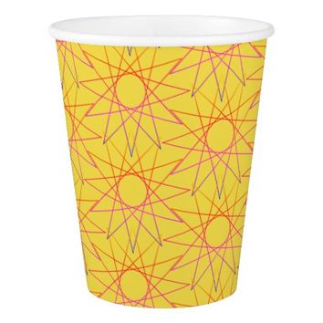 Happy Sunny Stars Paper Cup