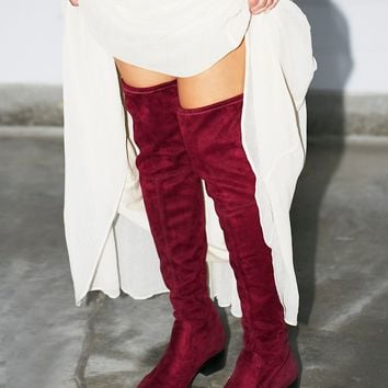 Free People Dreamer Over the Knee Boot