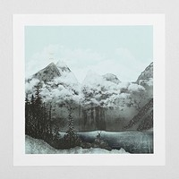Zach Terrell The Mountain Lake Art Print - Urban Outfitters