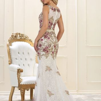 Long Prom Dress Formal Evening Gown