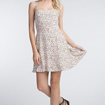 Honey Punch Floral Printed Dress