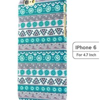 Sky2light,4.7 Inch Iphone 6 Case,blue Iphone 6 Case,floral Iphone 6 Cover,blue Pattern Iphone 6 Case