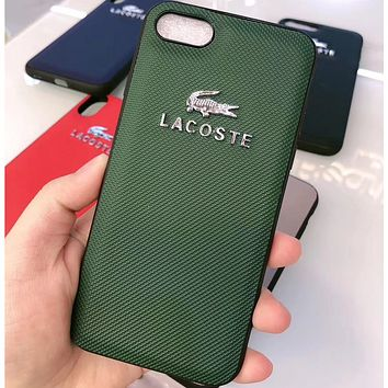 Lacoste Phone Cover Case For iphone 6 6s 6plus 6s-plus 7 7plus 8 8plus iPhone X XS XS max XR
