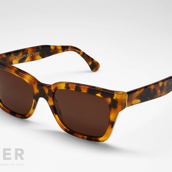 retroSUPERfuture America Dark Havana Sunglasses