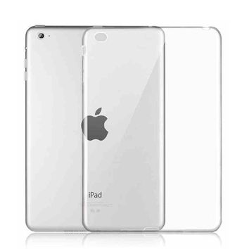 Ultra-Thin Clear Soft Skin Silicone TPU Protective Case Funda for Apple Ipad Mini 1 2 3 Cover Carcasa Para Tablet Coque De Capa