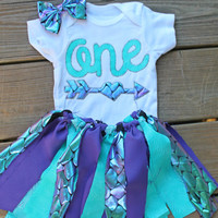 1st birthday mermaid outfit, first birthday outfit, mermaid birthday set, cake smash set, purple birthday outfit, mermaid party dress