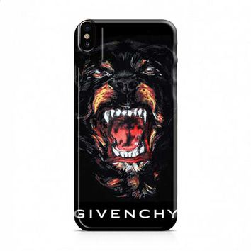 Givenchy dog iPhone X case