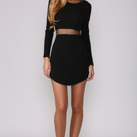 HelloMolly | Hush Hush Dress Black