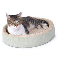 K&H Pet Products Thermo-Kitty Cuddle Up Heated Bed - Beds - Cat - PetSmart