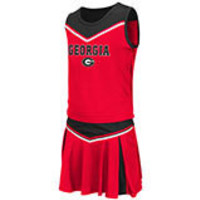 NCAA Georgia Bulldogs Colosseum Girls Cheerleading Outfit