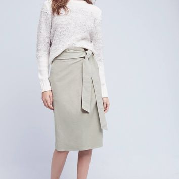 Felisa Paperbag-Waisted Skirt