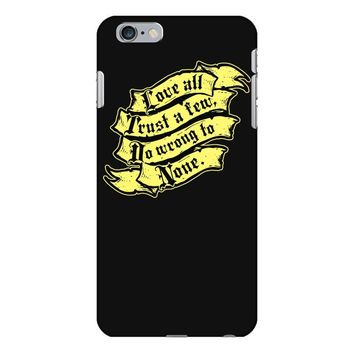 shakespeare on love iPhone 6/6s Plus Case