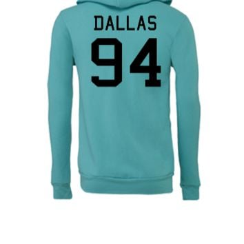 Cameron Dallas 94	 - Unisex Full-Zip Hooded Sweatshirt