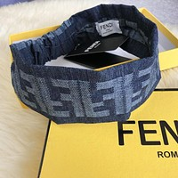Fendi Fashion New More Letter Women Men Sports Leisure Headband