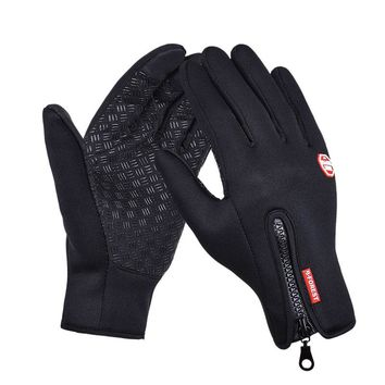 Outdoor Sports Gloves For Men & Women | Windstopper Simulated Soft Leather
