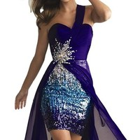 IBEAUTY DRESS Beading Strapless Long Evening Dress 2014