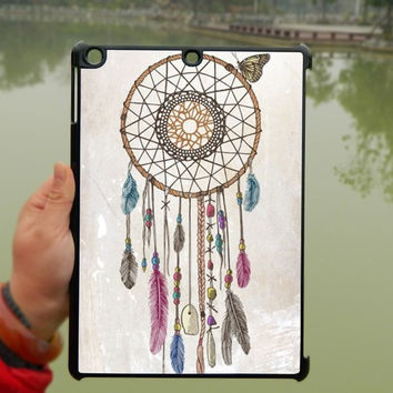 Vintage Dream Catcher iPad Case,Butterfly iPad mini Case,iPad Air Case,iPad 3 Case,iPad 4 Case,ipad case,ipad cover, ipad mini cover ipad air,iPad 2/3/4-107