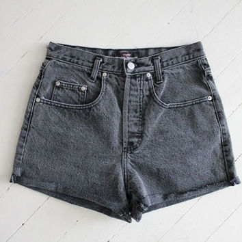 black Guess shorts / cut off shorts
