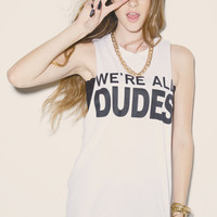 Dudes Muscle Tank | declared