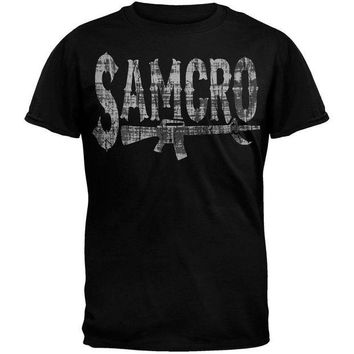 DCCKU3R Sons of Anarchy - Rifle Logo T-Shirt