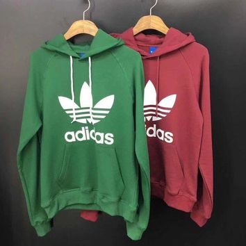 DCCKNQ2 ADIDAS Woman Men Fashion Hoodie Pullover Top Sweater