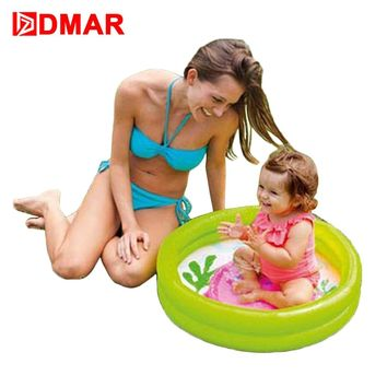 "DMAR 61cm 24"" Inflatable Pool for Kids Bathing Pool Toys Infants Baby Swimming Pool Baby Children Water Toys Durable"