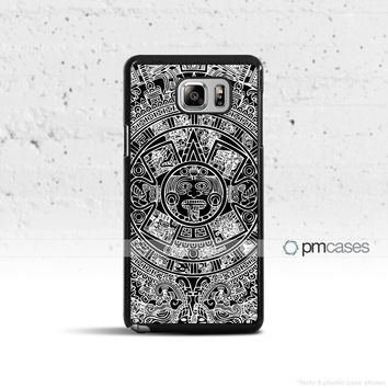 Mayan Calendar Case Cover for Samsung Galaxy S5 S6 S7 S8 Plus Edge Active Note 4 5 7