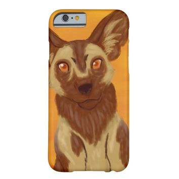 African Wild Dog Barely There iPhone 6 Case