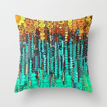 :: Party On and On :: Throw Pillow by :: GaleStorm Artworks ::