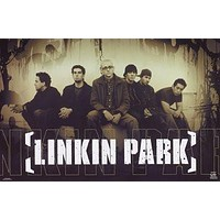 (24x34) Linkin Park Meteora Group Music Poster Print