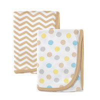 Luvable Friends 2-Pack Cotton Receiving Blankets | Affordable Infant Clothing