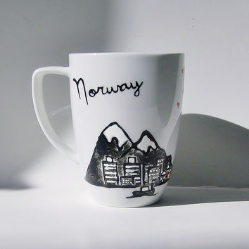 Long Distance Friendship - Norway Mug
