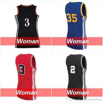Women's #23 Jm #2 Irving Jerseys Cheap #35 Durant Basketball Jersey #30 Curry #3 Wade