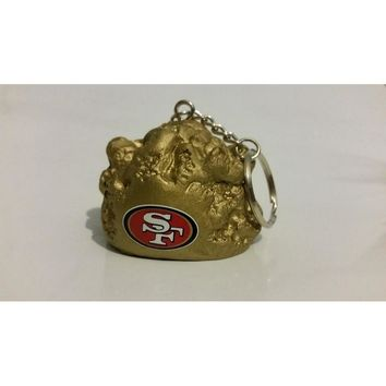 Foam Fanatics NFL 4-in-1 Foam Key Chain Antenna Topper - San Francisco 49ers