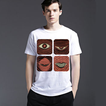 Summer Cotton Slim Tee Fashion Men's Fashion Stylish Casual Short Sleeve Round-neck T-shirts = 6451047683