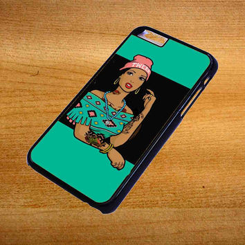 Pocahontas Hipster For iPhone 6 Plus Case *76*