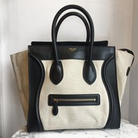Celine Mini 'Luggage' Bag