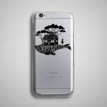 Find Yourself Whale Clear iPhone X Case