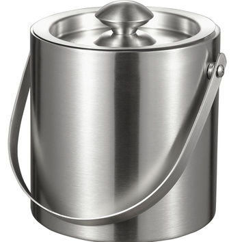 Visol Francois Stainless Steel Double Wall Ice Bucket (3L Capacity)