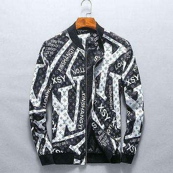 """LV"" tide brand fashion men's jacket"