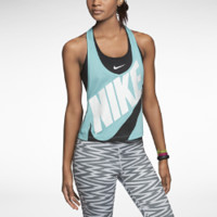 Nike Signal Graphic Women's Tank Top - Diffused Jade