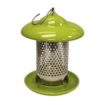 Heath™ 20145 Bird Stop Ceramic Feeder, Lime Green
